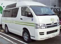 東京都 八王子市 介護付有料老人ホーム 周和苑専用送迎車